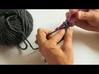 Crochet - Faire des mailles serrées - Tutoriel