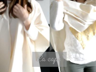 DIY | la cape