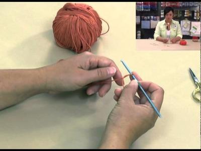 DMC-Crochet partie1-maille en l'air