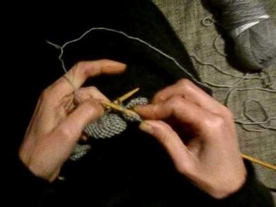 Leçon de tricot jersey envers