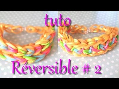 [ tuto ] bracelet élastique réversible #2