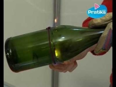 Comment et pourquoi couper en deux une bouteille en verre