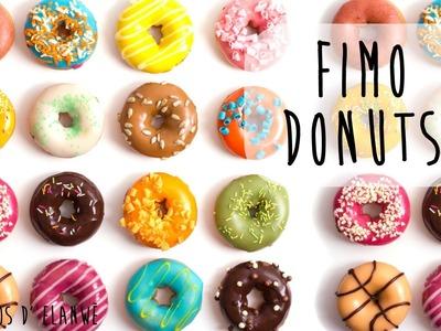 Tutoriel 16 : Réaliser un Donut en Fimo. Clay doughnut.