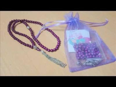 Comment faire un tasbih ( sebha ) | Kit Plume de Miel