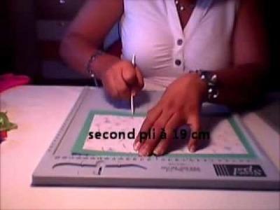 Comment réaliser une enveloppe avec le SCOR PAL métrique (cm)