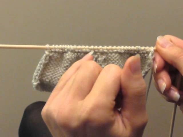 Cours de tricot 14 - tricoter des chaussons