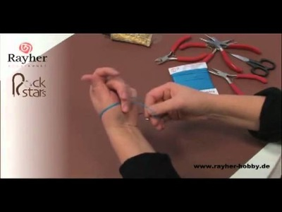 Créer ses bracelets en cuir - Bracelets RockStar Rayher