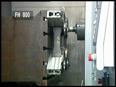 CRM - www.crm-meca.fr - Mécanique et outillage de précision - Fraisage CN : TOYODA FH 800.wmv