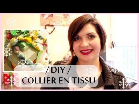 {D.I.Y N°9} - Sautoir en Tissu | Handmade Fabric Necklace