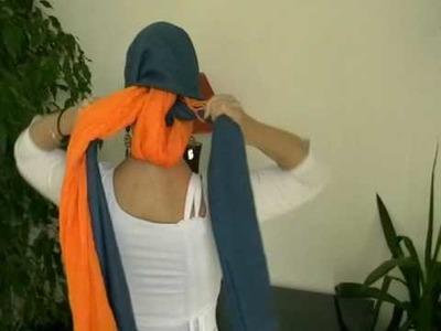 Explication vidéo foulard en épis
