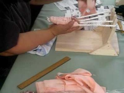 Fabrication de sandales