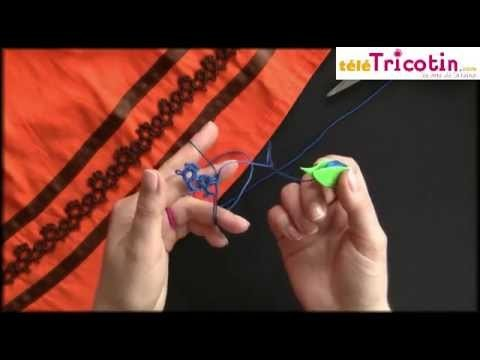 FRIVOLITÉ - galon décoratif : comment joindre les picots