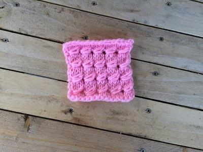 Point fantaisie tricot. punto fantasia dos agujas
