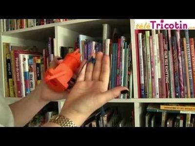 Tricotin mécanique ORANGE de chez Tricotin.com
