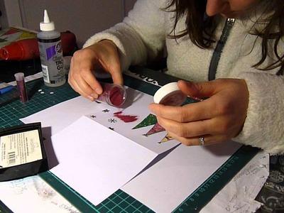 [Tutoriel Carterie n°1] : créer une carte de voeux ou de noël