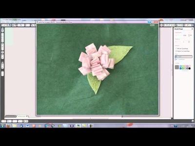 Une petite fleur en papier