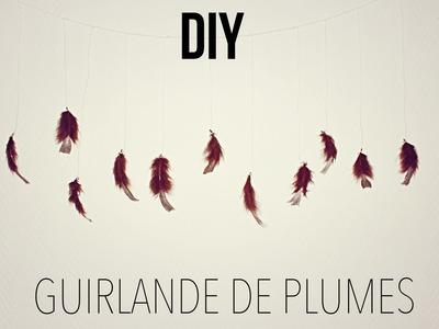 DIY │Guirlande de Plumes
