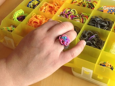 Comment créer une bague Rainbow Loom en français