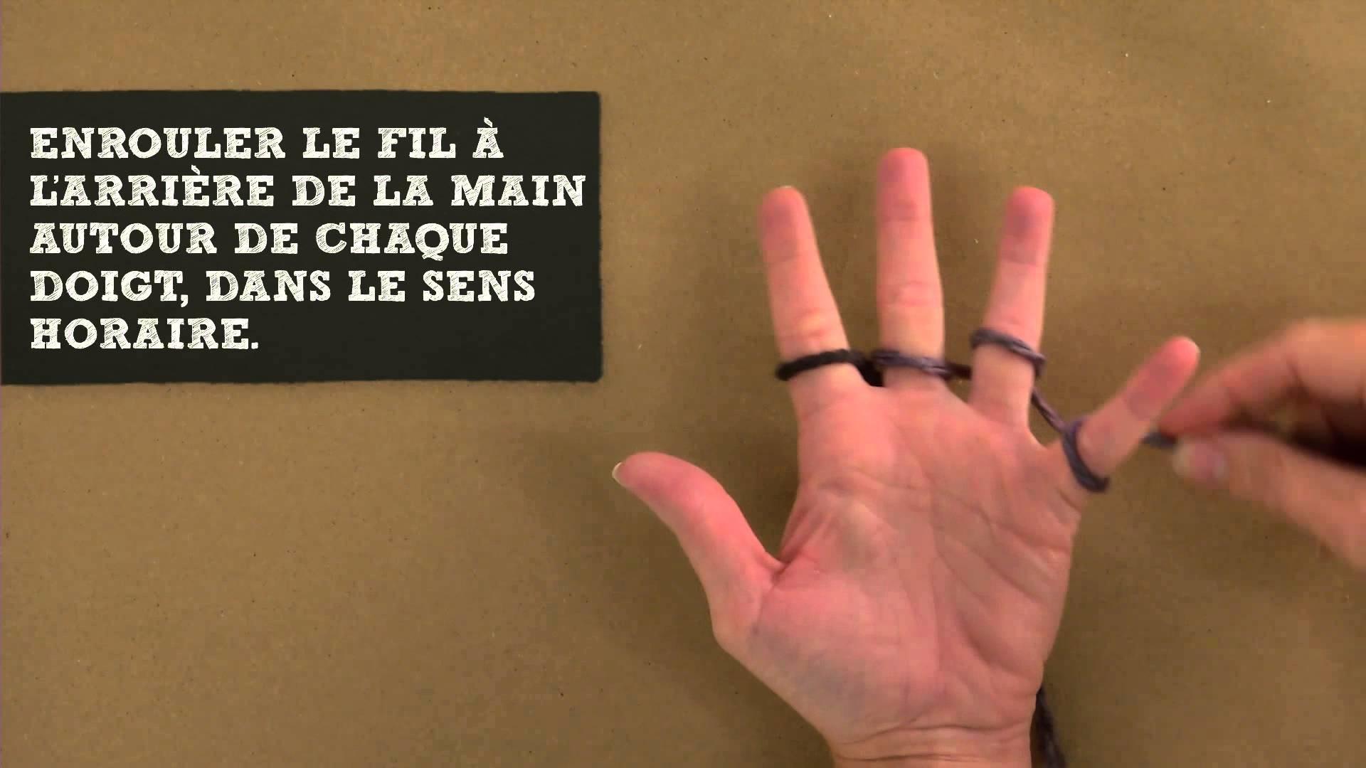 Comment faire du tricot aux doigts | Michaels