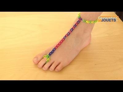 Créer un bracelet de cheville Rainbow Loom