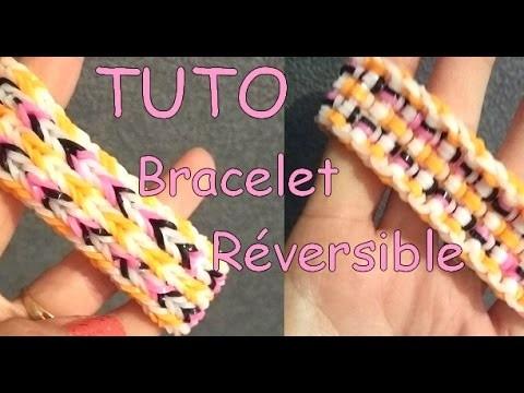 [ TUTO ] bracelet élastique réversible