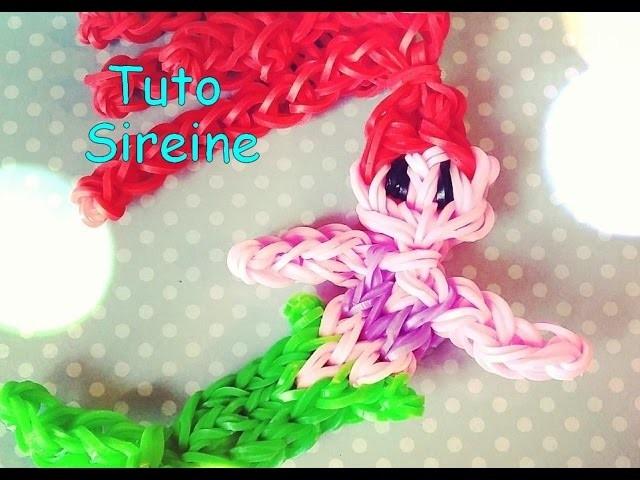 [Tuto] sirène élastique ( Rainbow Loom )