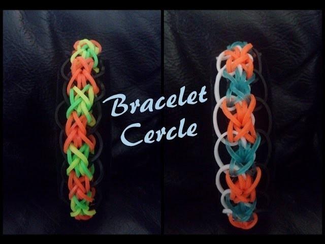 Bracelet cercle  Rainbow loom® Tutoriel Français (Niveau Intermédiaire)