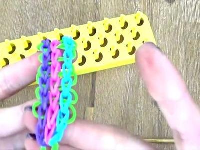 [ TUTO ] bracelet élastique tissé
