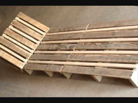 Fabriquer une chaise longue design en palette