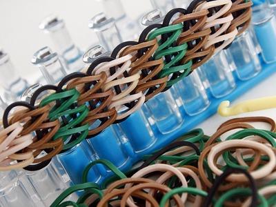 TUTO : bracelet élastique simple à trois rangs