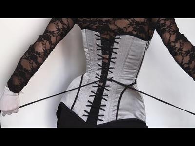 Patron de Base pour Corset 10 pans - Leçon Couture n°14