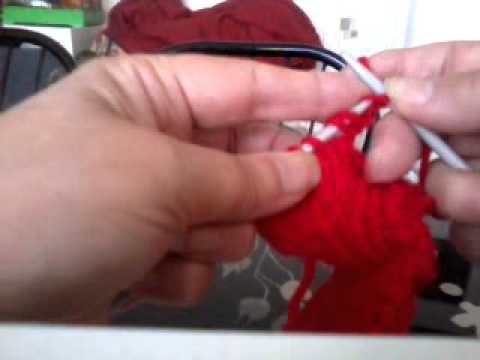 Apprendre à diminuer et augmenter des mailles ,au tricot