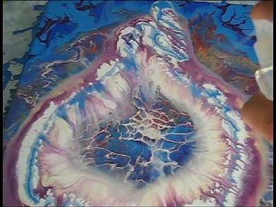 Artiste peintre intuitif visionnaire. Miky voyageur dans le temps et l'espace