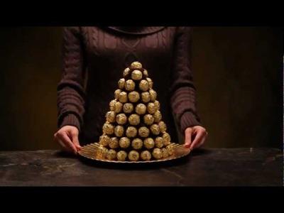 Create Your Own Ferrero Rocher® Pyramid - Confectionnez votre propre pyramide Ferrero®