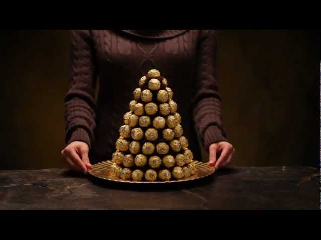 Create Your Own Ferrero Rocher® Pyramid - Confectionnez votre propre pyramide Ferrero®