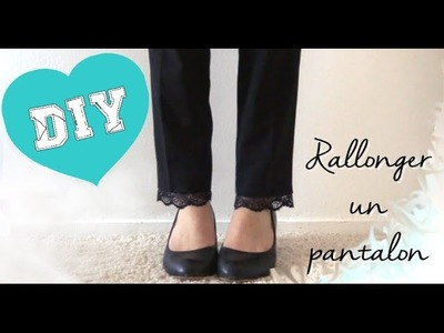 ✄┄ How to n°7┆Rallonger un pantalon !