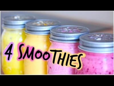 [ Recette n°1 ] : 4 Idées de Smoothies !