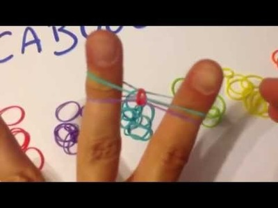 "Tuto bracelet Rainbow Loom ""fishtail"" - français"