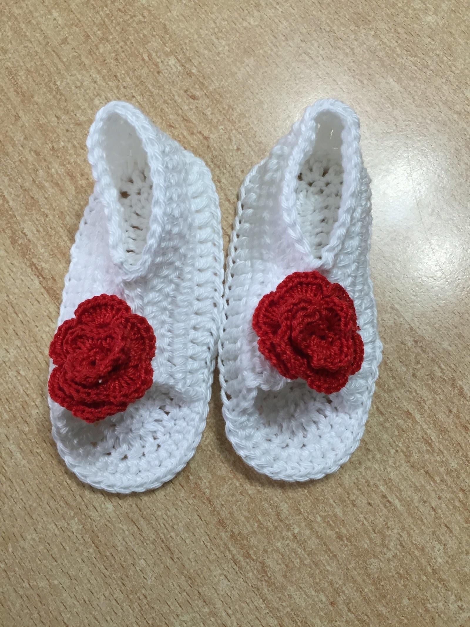 Tuto Chaussures bb au crochet