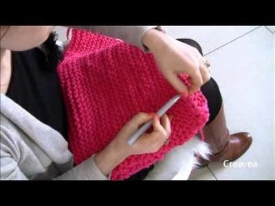 Tuto Hoooked Zpagetti : Tricoter un pouf
