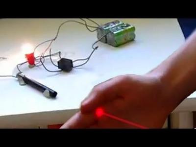 Eclairage automatique : Incroyables Expériences [61] Détecteur de passage. automatic light. DIY
