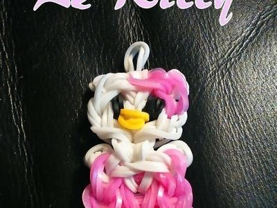 Le Kitty Rainbow loom® Tutoriel Français (Niveau Intermédiaire)
