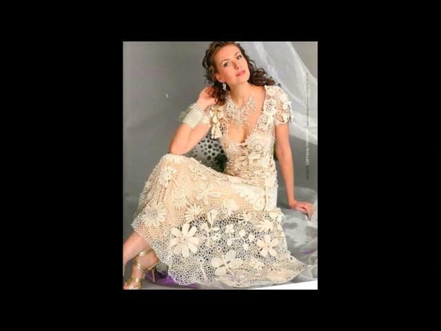 Robe de mariée en dentelle de crochet ~ Photos de bonnes robes de mariage idées