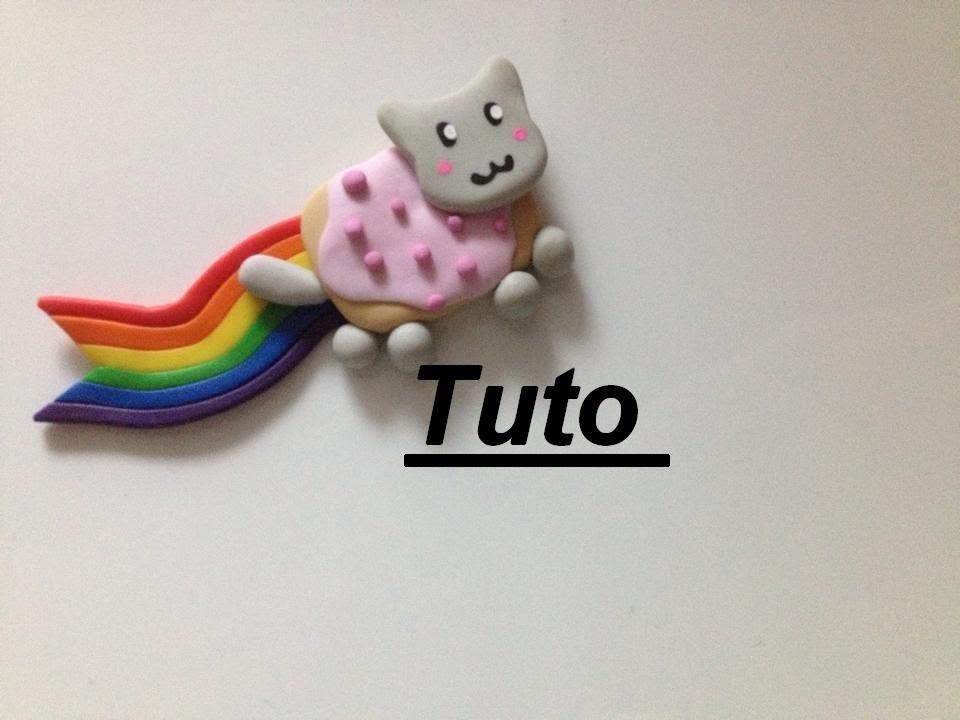 Tuto Fimo - Nyan Cat
