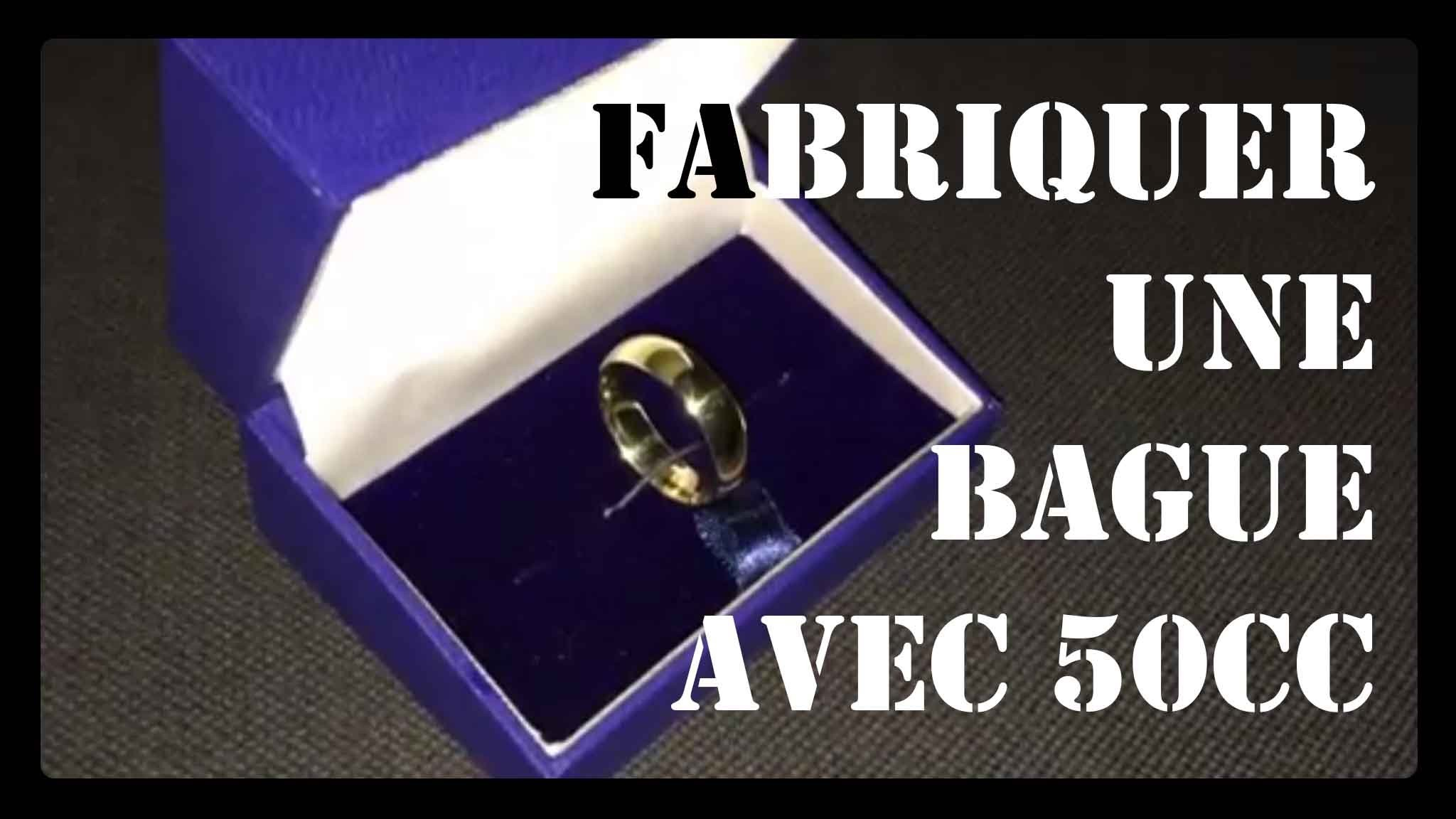 fabriquer une bague avec une pi ce turn a coin into a ring my crafts and diy projects. Black Bedroom Furniture Sets. Home Design Ideas