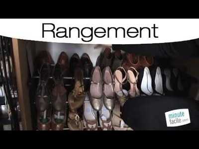 Idées pour bien ranger ses chaussures