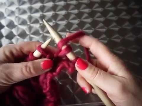 Les côtes cordées au tricot