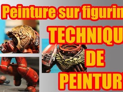 TUTO - Peinture sur figurines - Techniques de peinture