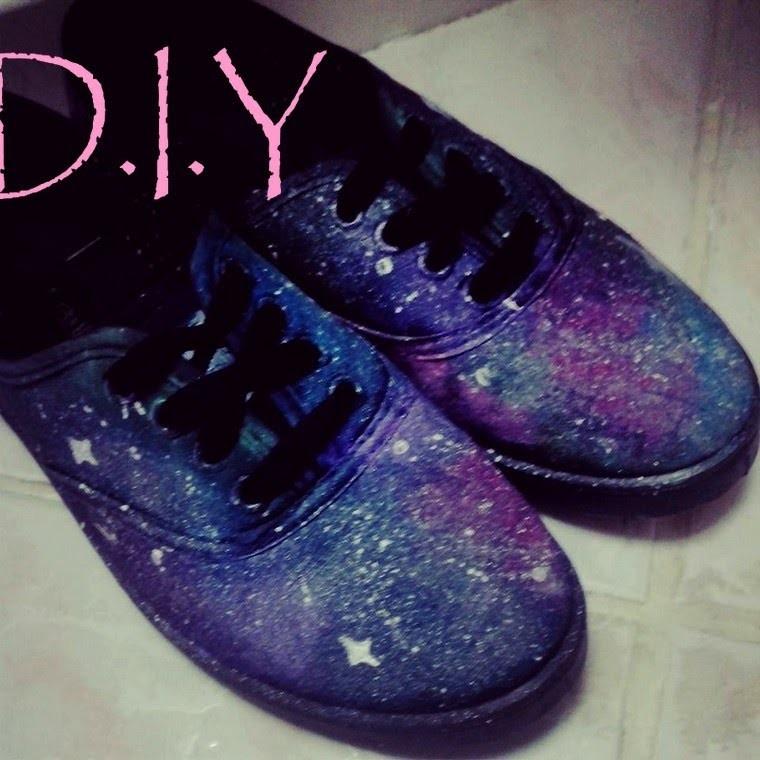 [D.I.Y #3]: Faire ses chaussures Galaxy Sois-même