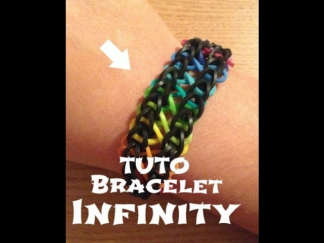 [HeySummer] ♥ •Tutoriel Bracelet élastiques Infinity•